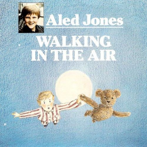 ALED JONES Walking In The Air Vinyl Record 7 Inch HMV 1985